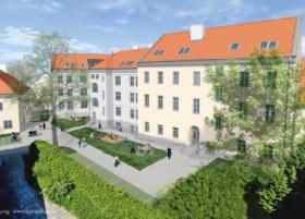 der Sozialbereich-Generalsanierung Bürgerspitalwohnhäuser St.Pölten Schmied+Ranzonigasse