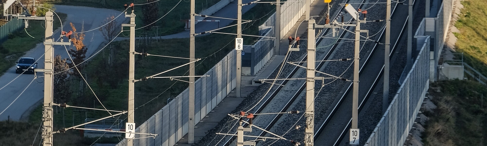 Neubau Bahntrasse Güterzugumfahrung St.Pölten