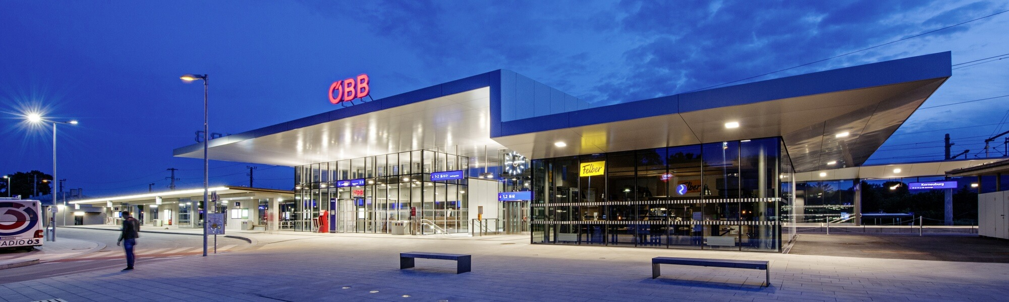 Bahnhof Korneuburg Um/Neubau